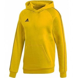Adidas Core 18 Hoodie Youth FS1892 Yellow 164cm
