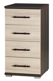 MN Chest Of Drawers Inez Plus Small Ash