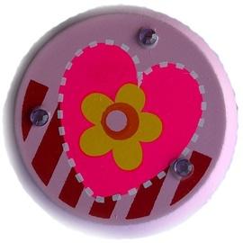 Woody Yo-Yo Light Pink With Heart 90735