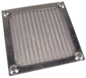 Ohne Hersteller Aluminum Fan Filter 92mm Silver
