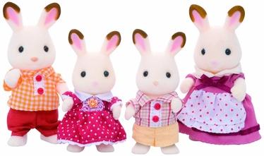 Žaislinė figūrėlė Epoch Sylvanian Families Chocolate Rabbit Family 3125