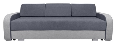 Sofa-lova Black Red White Zondra Grey, 233 x 96 x 81 cm