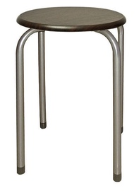Signal Meble Stool Dark Brown 5901477203879