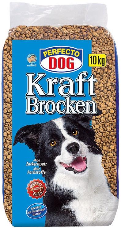 Сухой корм для собак Perfecto Dog Dry Food With Beef 10kg