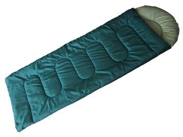 Спальный мешок Royokamp 202001 Green, правый, 220 см