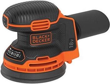 Ekstsentriline lihvija Black & Decker BDCROS18N-XJ, 0.9 kg