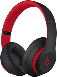 Ausinės Beats Solo 3 Wireless Over-Ear Defiant Black/Red