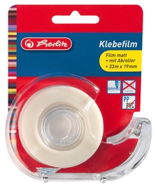 Herlitz Adhesive Tape With Dispenser Transparent 10866929