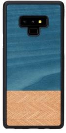 Man&Wood Denim Back Case For Samsung Galaxy Note 9 Black/Blue