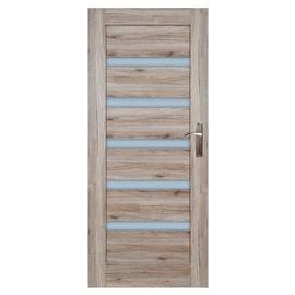 Vidaus durų varčia Turyn, sanremo ąžuolo, kairinė, 203.5x74.4 cm