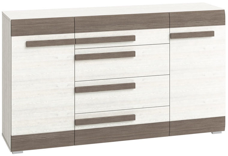 MN Blanco Chest Of Drawers White/Brown