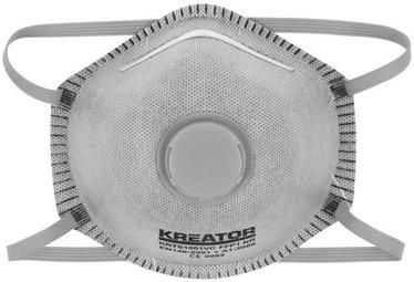 Kreator KRTS1002VC Dust Mask FFP2 with Valve 2pcs