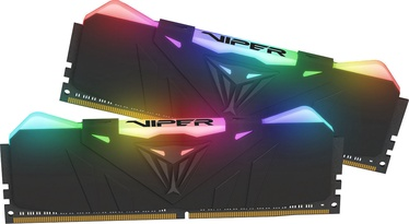 Patriot Viper RGB Black 16GB 3600MHz CL17 DDR4 KIT OF 2 PVR416G360C7K