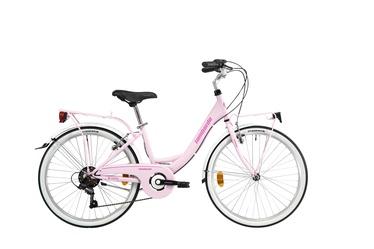 """Jalgratas Lombardo Rimini 6, roosa, 14"""", 24"""""""