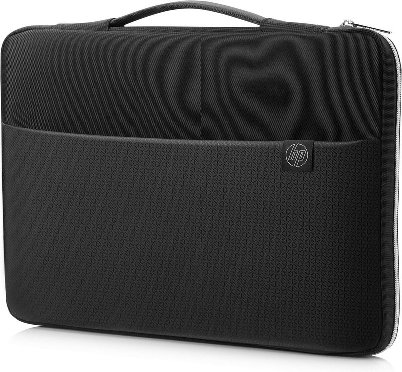 """HP 14"""" Carry Sleeve Black/Silver"""