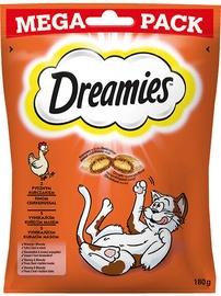 Kārumi kaķiem Dreamies, čipsi, cepumi, 0.18 kg