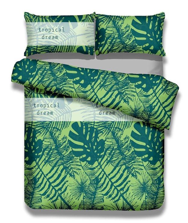 AmeliaHome Averi Rain Forest Bedding Set 200x220/70x80 2pcs