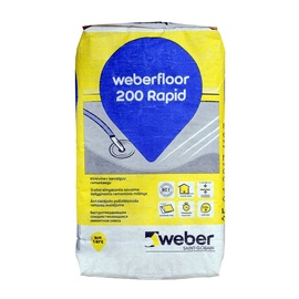 Põrandasegu Weber 200RAP kiud 5-50 20kg