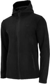 4F Mens Fleece Sweatshirt NOSH4-PLM002-20S Black M