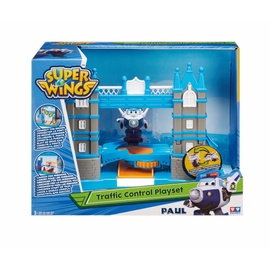 Auldey Super Wings Traffic Control Playset Tower Bridge