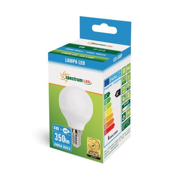 Spectrum LED 13031 E14 4W P45