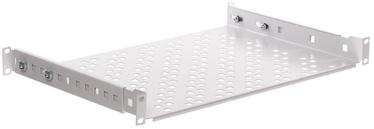 """Riiul Netrack Equipment Shelf 19"""" 1U 350mm Grey"""