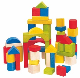 Klucīši Woodyland Coloured Blocks Set