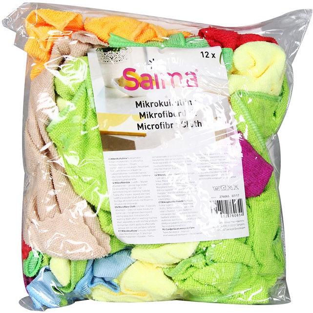 Saima Microfibre Cloth 12pcs