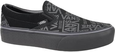 Vans 66 Classic Slip On Platform Shoes VN0A3JEZWW0 Black 36.5