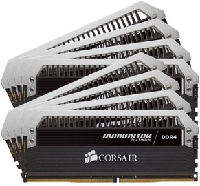 Corsair Dominator Platinum 128GB 2666MHz CL15 DDR4 KIT OF 8 CMD128GX4M8A2666C15
