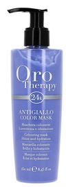 Kaukė plaukams Fanola Oro Therapy Coloring Mask Anti Yellow, 250 ml