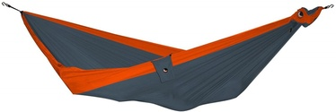 Ticket To The Moon Double Hammock Dark Gray Orange