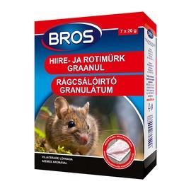 Химическое средство от вредителей Bros Rats/Mice Granules 140g