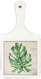 Home4you Cutting Board Palm Leaf 18x34.5cm