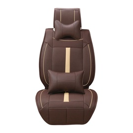 SN Car Seat Massage Cover 3 in 1 Brown