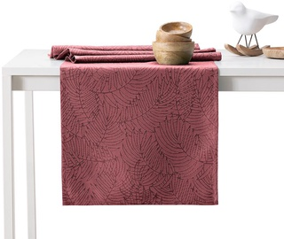 AmeliaHome Gaia AH/HMD Tablecloth Set OldRose 115x180/35x180 2pcs