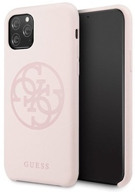 Guess 4G Tone On Tone Back Case For Apple iPhone 11 Pro Pink