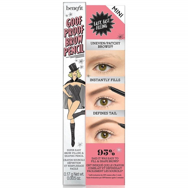 Benefit Goof Proof Brow Easy Shape & Fill Pencil Mini 0.17g 04
