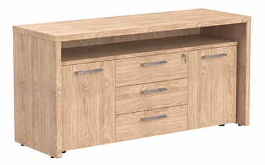 Skyland TTF-3D Bar Fridge Stand 164x55x80cm Devon Oak