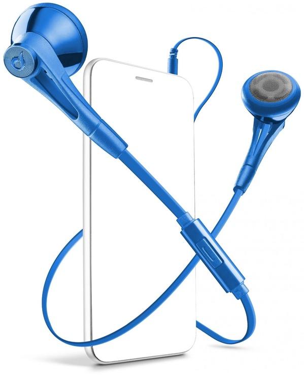 Ausinės Cellular Line Firefly Blue