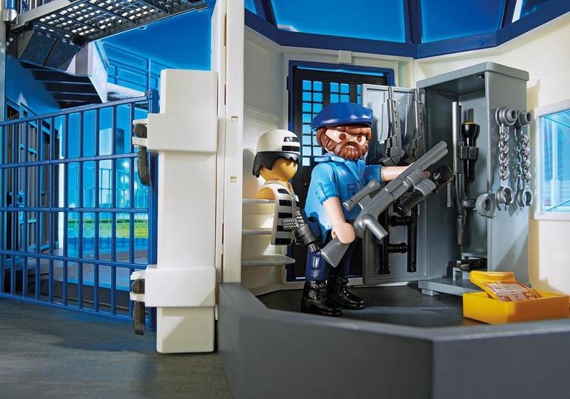 Konstruktor Playmobil City Action Police Headquarters With Prison 6919