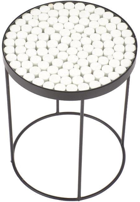 Halmar Naturo 2 Coffee Table Black/White