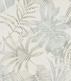 Viniliniai tapetai, Limonta, 69803, Atmosphere 2, balti, žali lapai