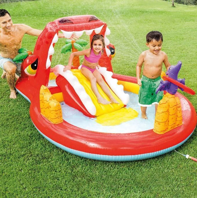 Intex Pool Playground Red Dragon