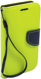 Telone Fancy Diary Bookstand Case For LG G5 Light Green/Blue