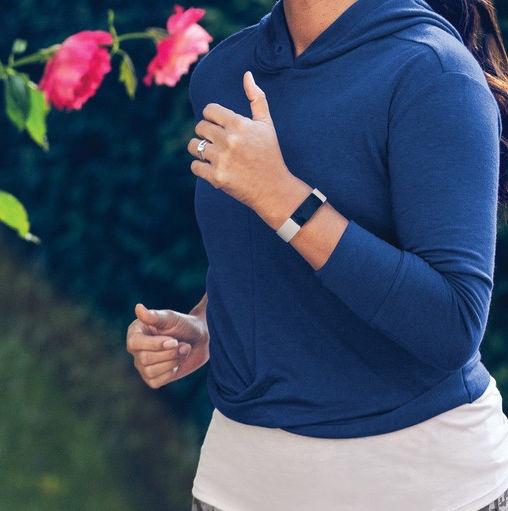 Išmanioji apyrankė Fitbit Inspire 2 Fitness Tracker Lunar White