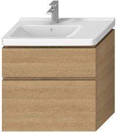 Jika Cubito Bath Cabinet 740x467mm Oak