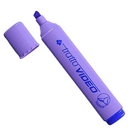 MARKER TEKSTILE TRATTO VIDEO VIOLETNE