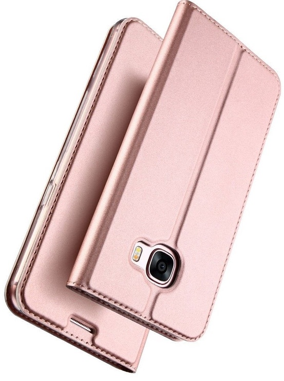Dux Ducis Premium Magnet Case For Sony Xperia XZ Premium Rose Gold