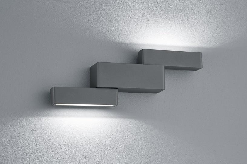 Светильник Trio Padma 227160242, 2x4.5Вт, 3000°К, LED, IP54, aнтрацит
